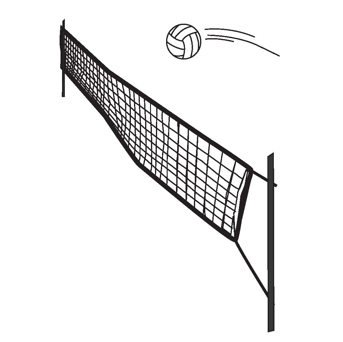 volleyball spike clipart - photo #40