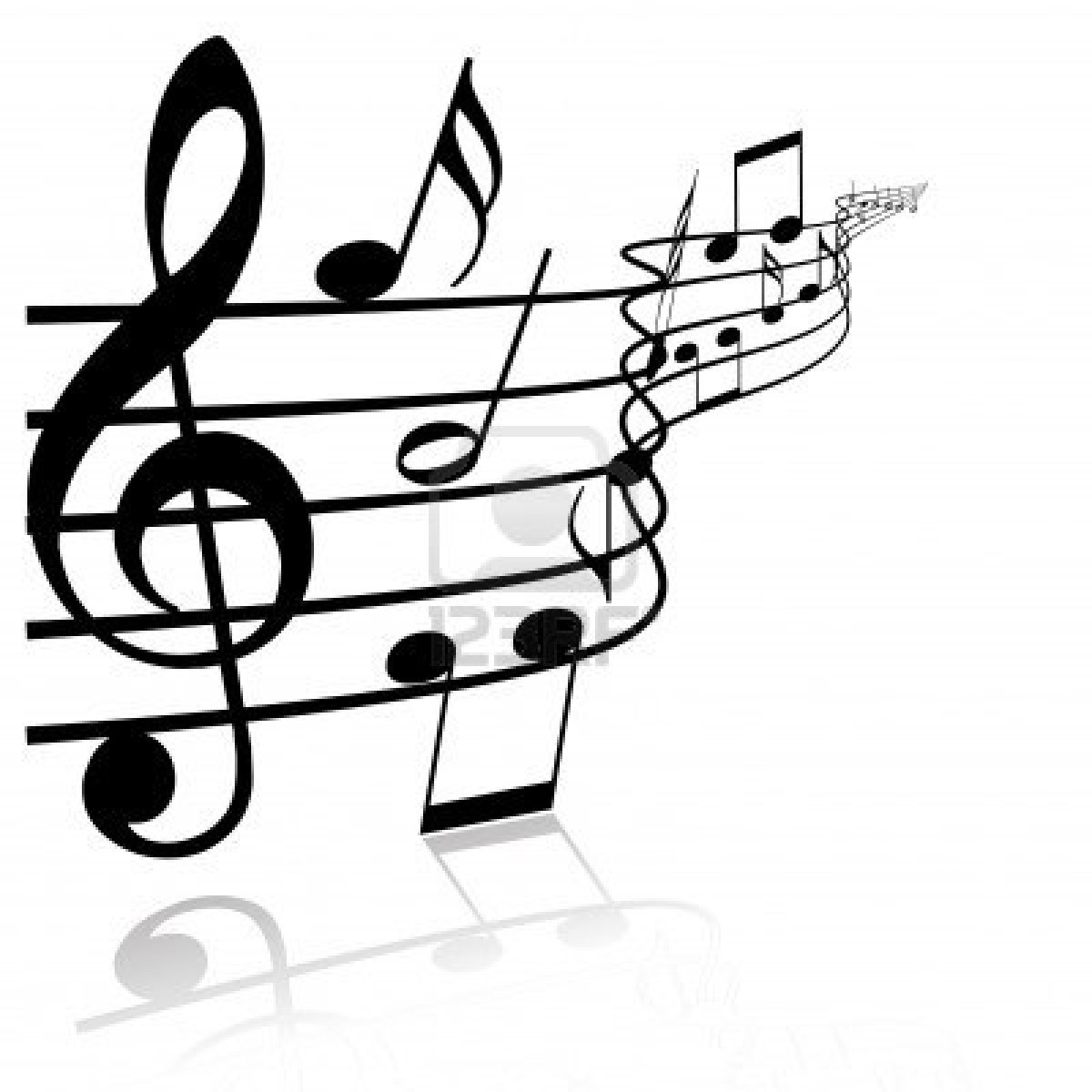 3698641 Music Theme Black Notes On White Background   Best