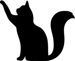 And Cat Silhouette Clip Art Free   Clipart Panda   Free Clipart Images
