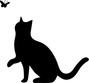 Cat And Dog Black And White Clipart Clipart Suggest