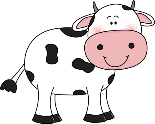Black And White Cow Face Clipart - Clipart Kid