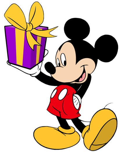 Disney Birthday Clip Art And Disney Animated Gifs   Disney Graphic