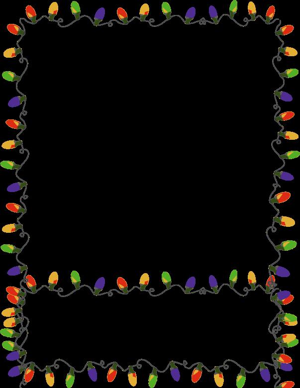 Christmas Card Borders Clipart - Clipart Kid