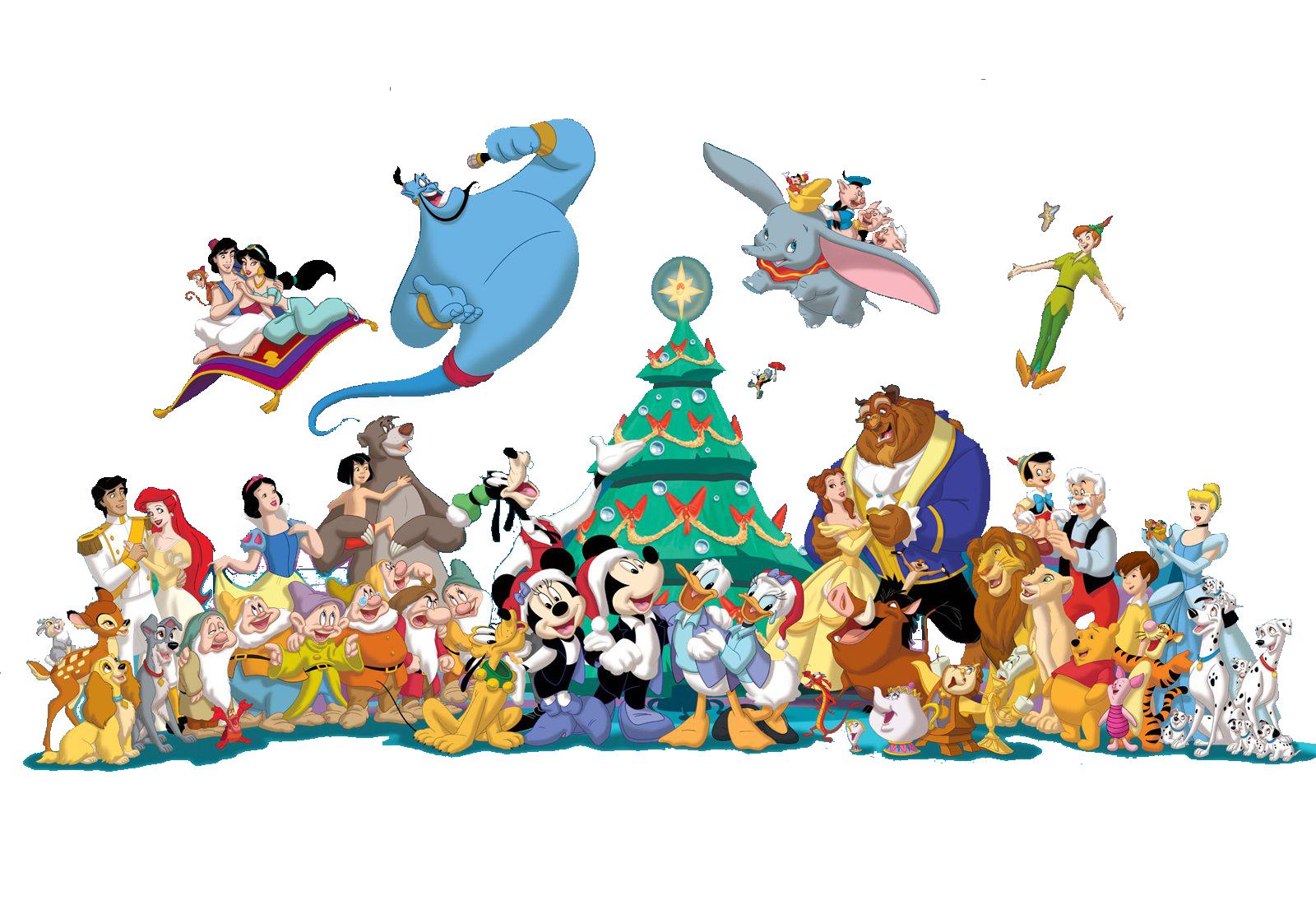 Disney Christmas Clipart - Clipart Kid