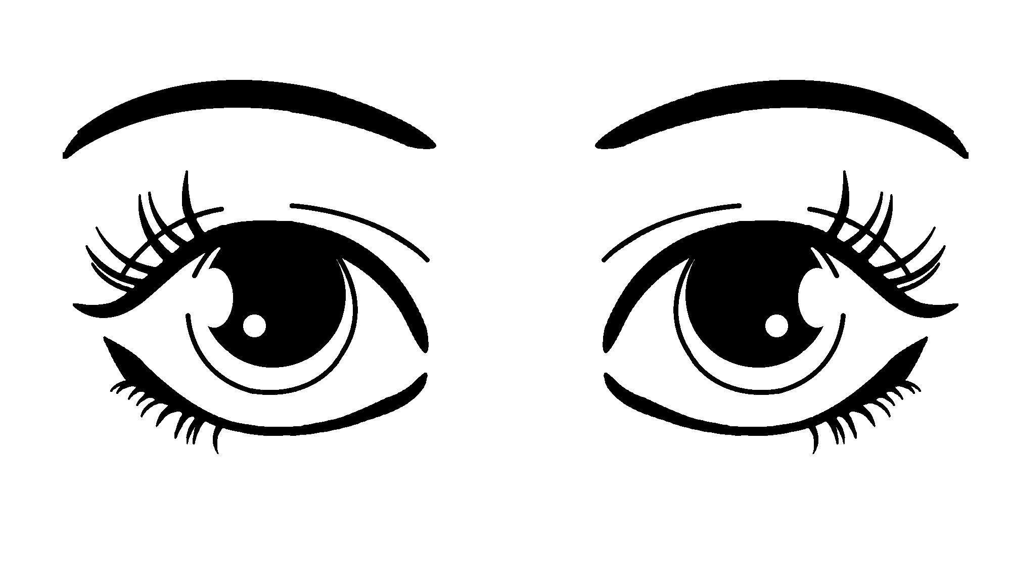 Woman Eyes Clip Art