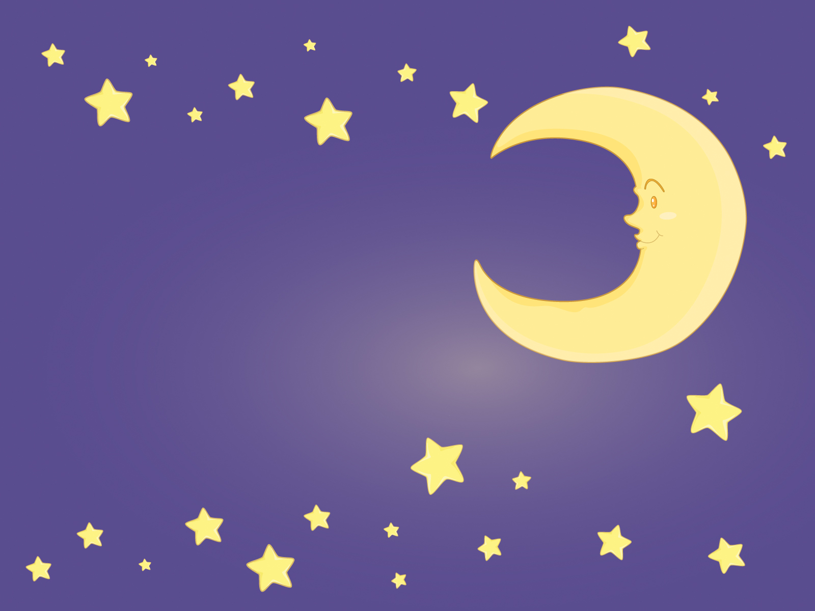 Moon and stars clipart suggest