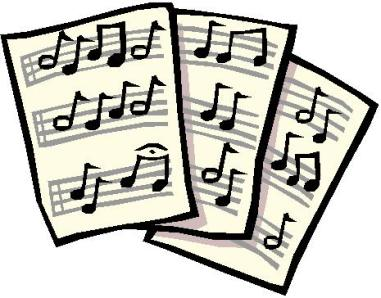 Music Staff Clipart Black And White   Clipart Best
