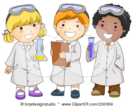 Rf Clipart Illustration Of Diverse School Kids In Science Class Jpg