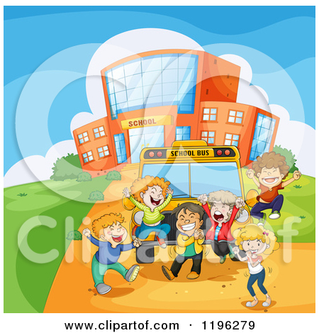 Royalty Free  Rf  Last Day Of School Clipart Illustrations Vector