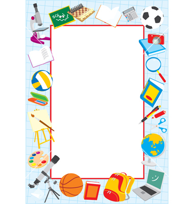 Free School Clipart Borders Frames