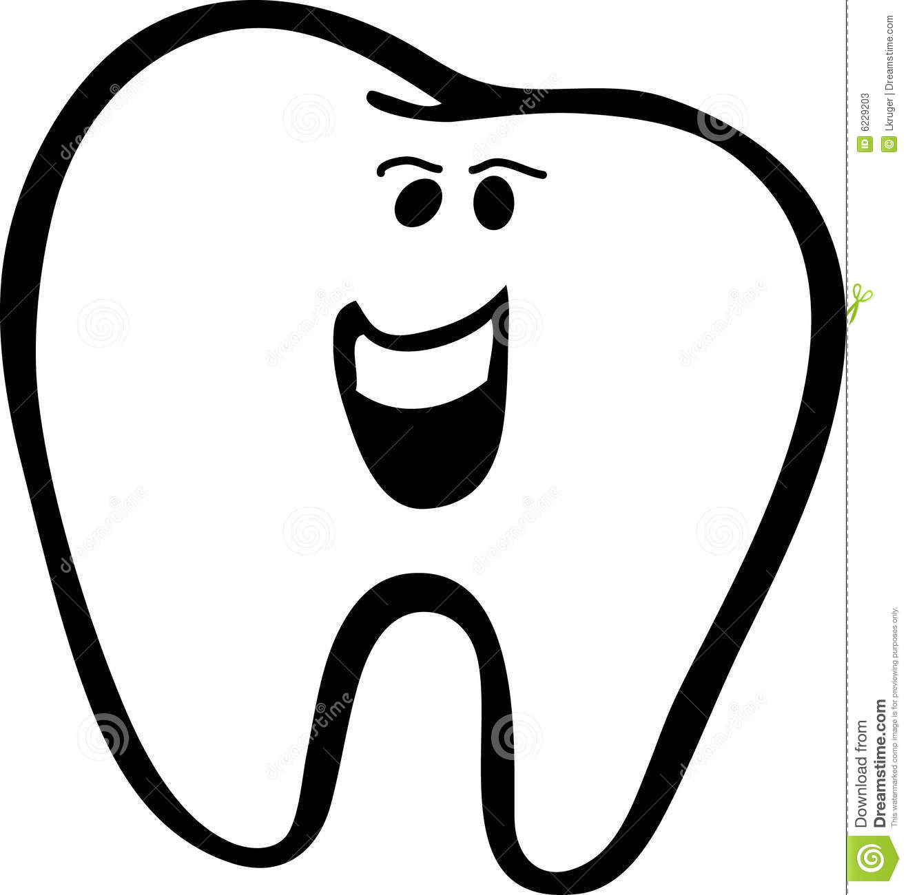 clipart picture of a tooth - photo #30