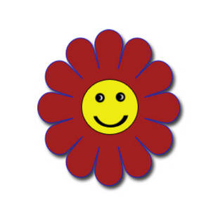 Smile Happy Flower Clipart   Cliparthut   Free Clipart