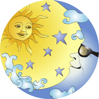 Moon And Stars Clipart - Clipart Kid