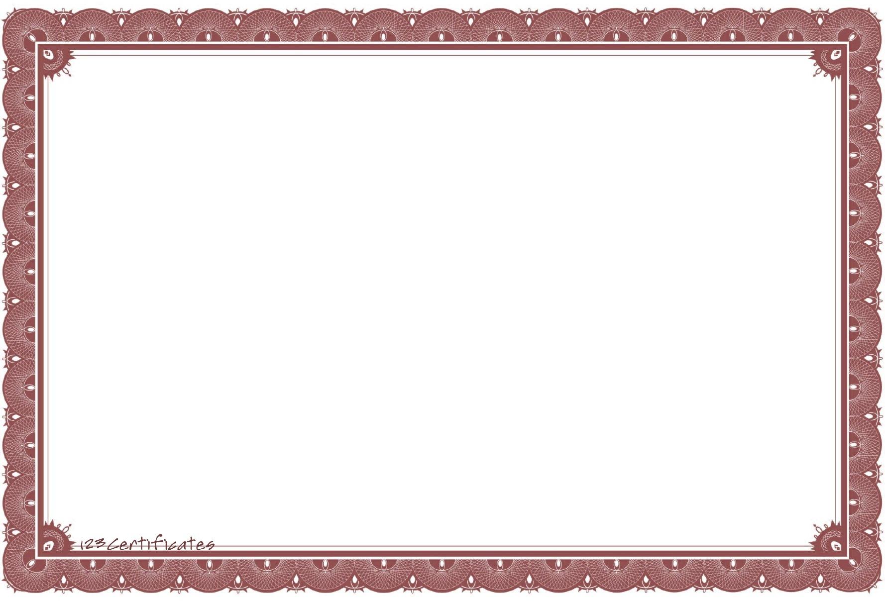 Top 10 free certificate borders for all occasions template downloads