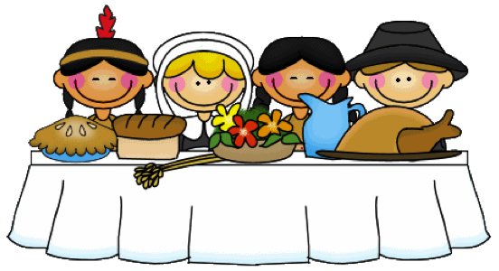 Thanksgiving Feast Clipart Way To Say Thank You Here Are Some Free Thanksgiving Resource Links