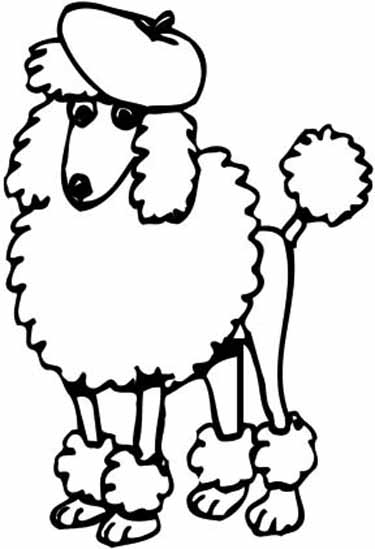 10 Cartoon Poodle Free Cliparts That You Can Download To You Computer