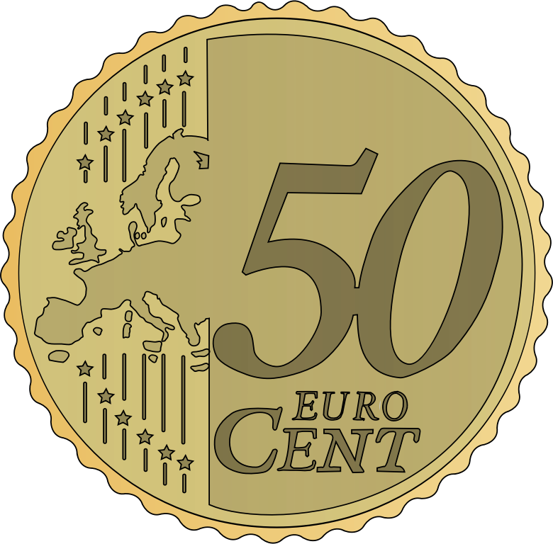 50 Euro Cent By Frankes