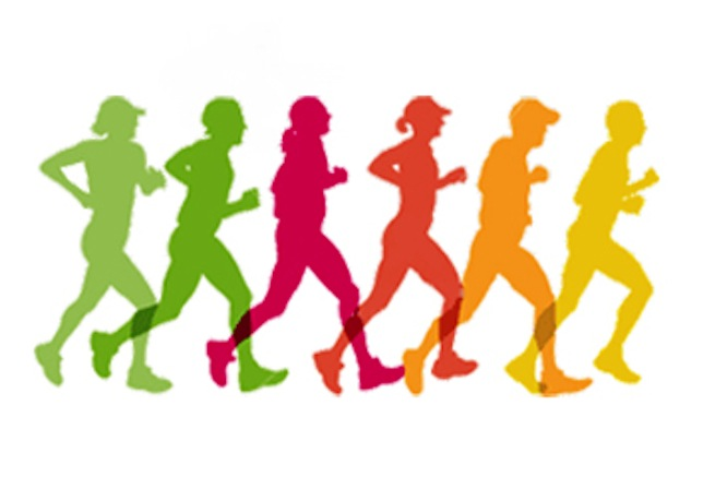 5k Fun Run Clipart - Clipart Kid