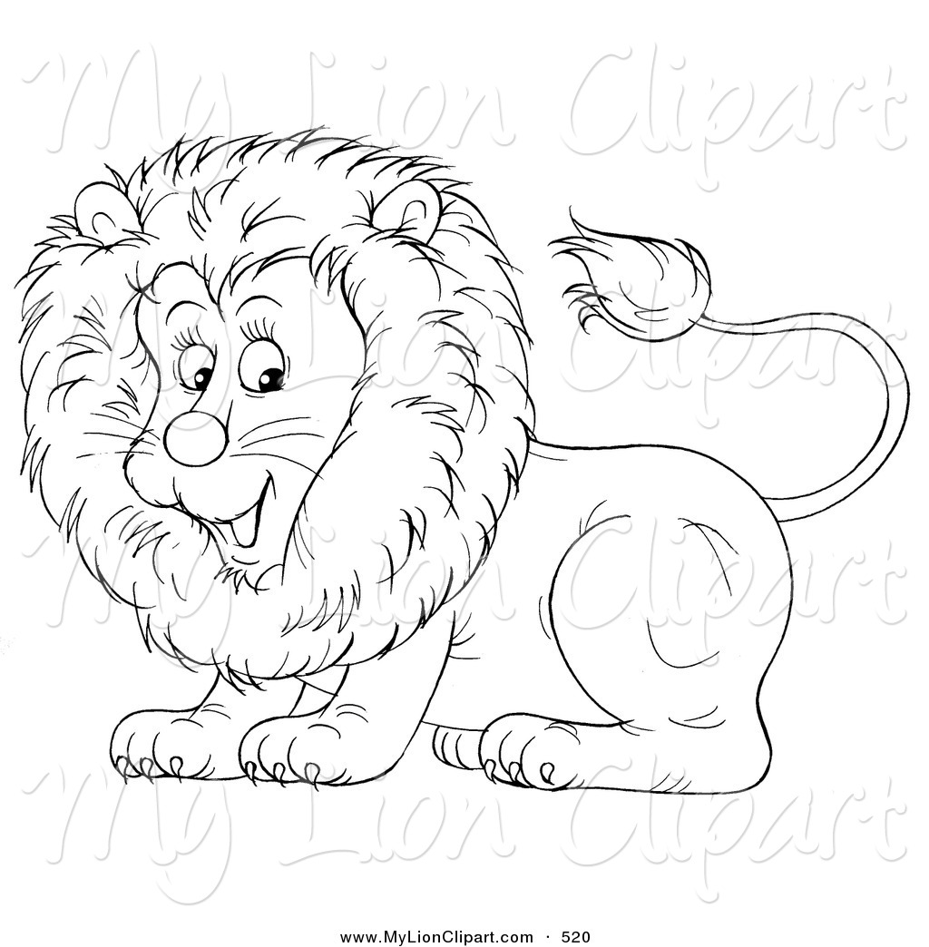 Design Of A Cute Lion Lion Clip Art Alex Bannykh