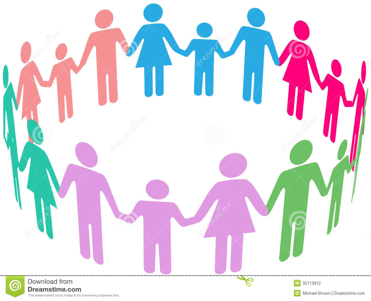 Family Diversity Social Community People Stock Photography   Image