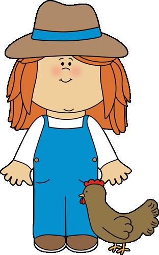 Farmer Clipart Girl Farmer Clip Art Image