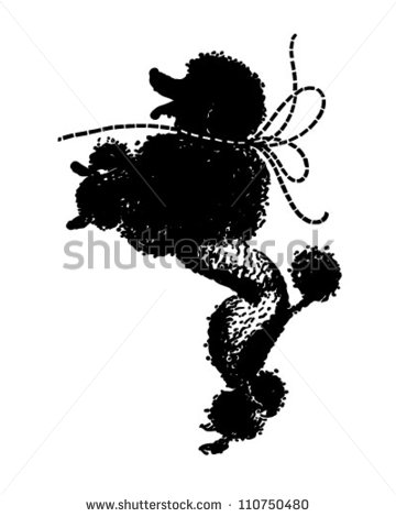 French Poodle Clip Art   Animalgals