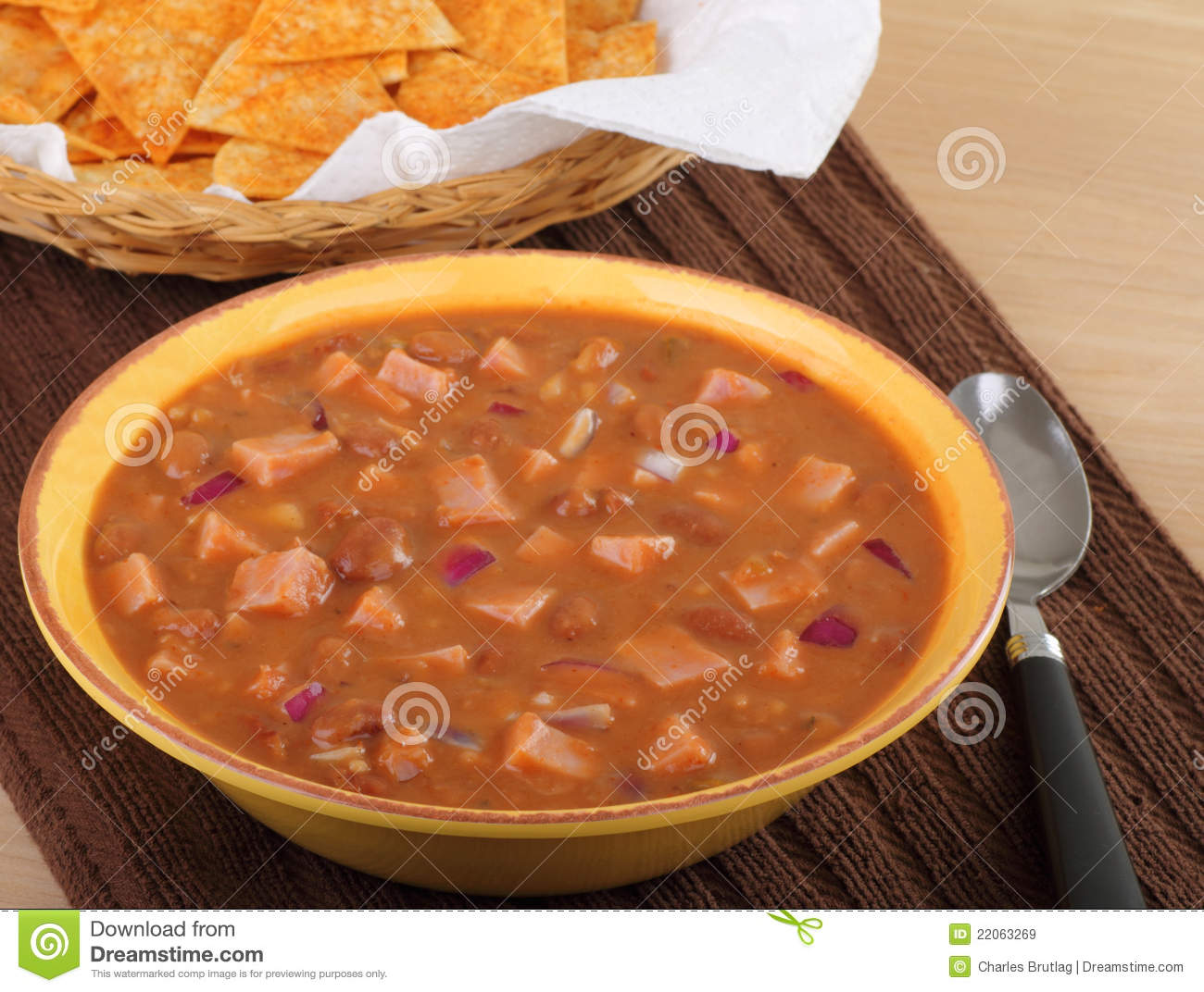 Ham And Bean Soup Royalty Free Stock Images   Image  22063269