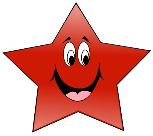 Happy Star   Http   Www Wpclipart Com Cartoon Objects Happy Star Png