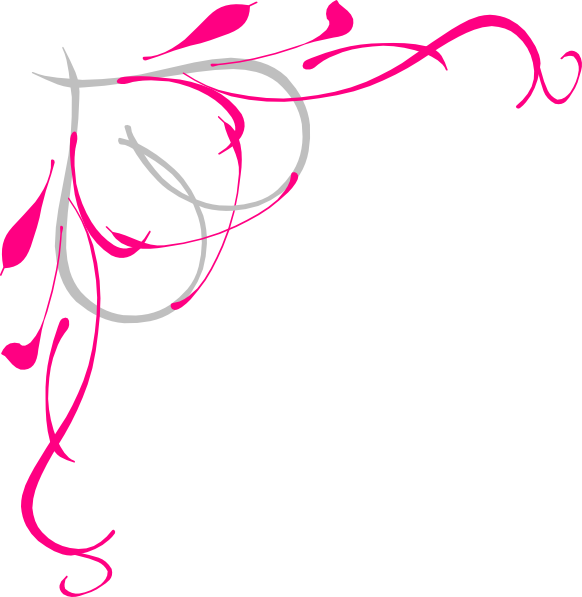 Rose Corner Clipart - Clipart Suggest