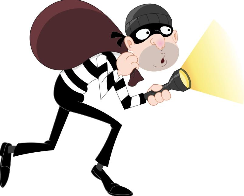 Thief Clipart - Clipart Kid