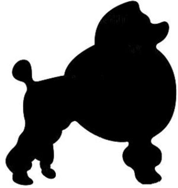Poodle Silhouette Clip Art Poodle Clipart
