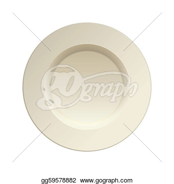 Porcelain China Dinner Plate Gg59578882 Empty Dinner Plate Clipart