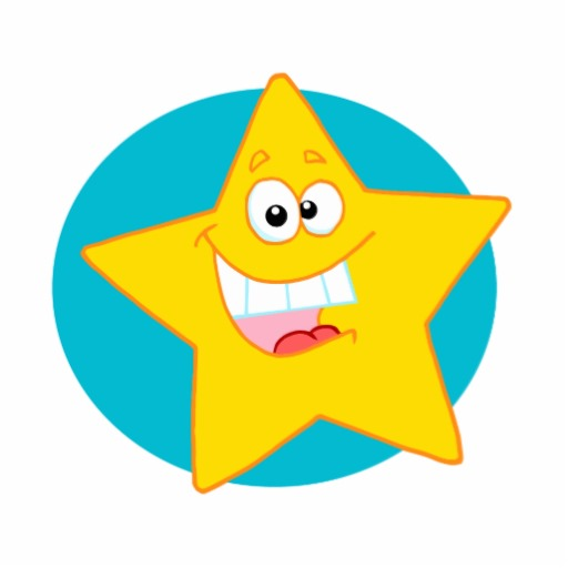 Cute Smiling Star Clipart - Clipart Kid