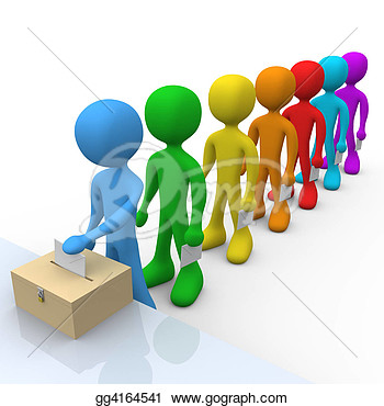 Stock Illustration   Voting  Clipart Illustrations Gg4164541