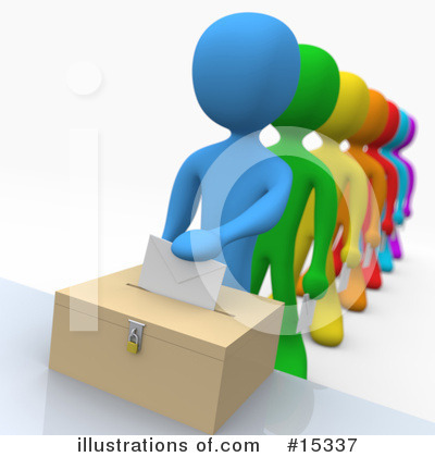 Voting Clipart  15337 By 3pod   Royalty Free  Rf  Stock Illustrations