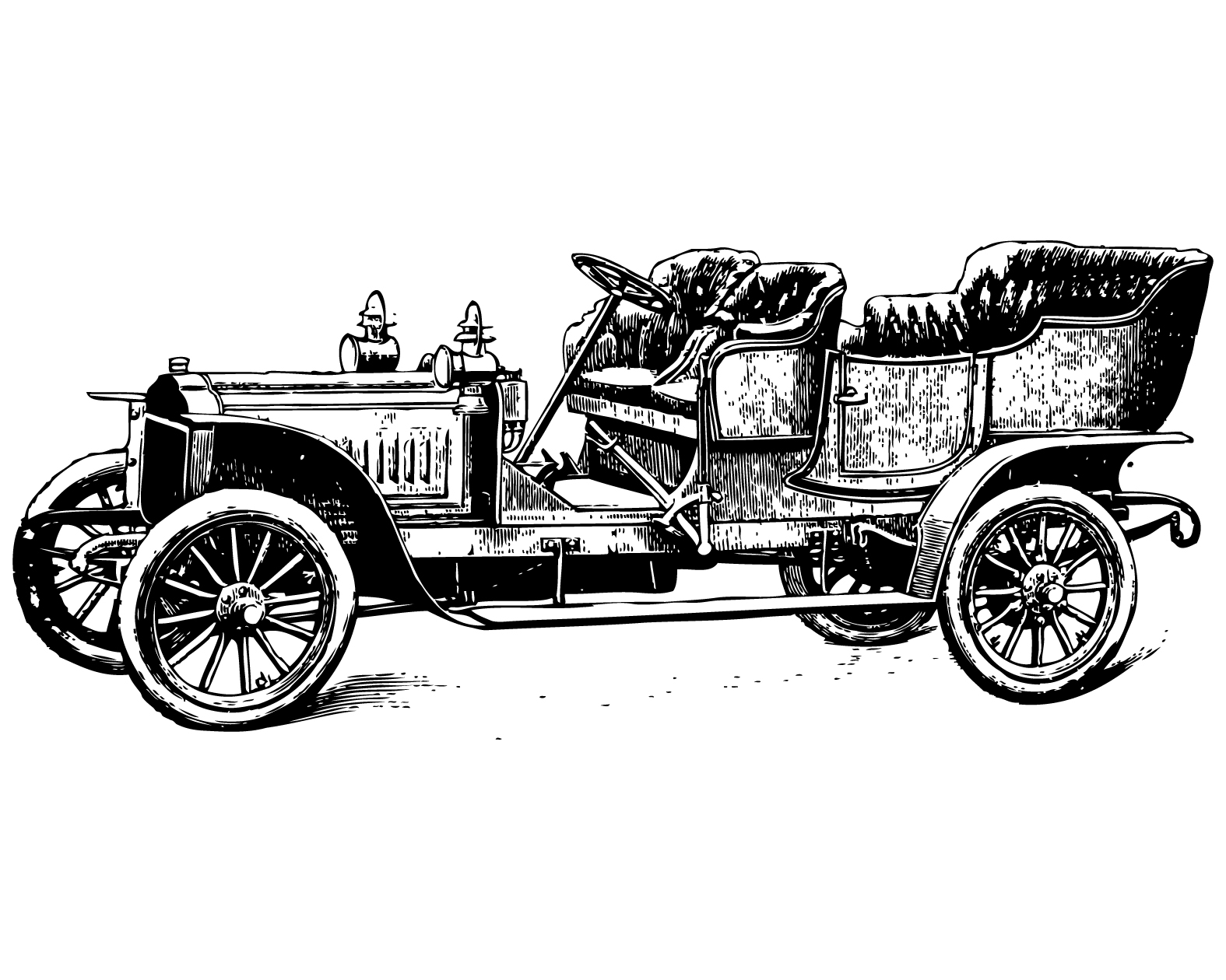 Who Interested About Vehicles Love To Have A Vintage Car Clipart