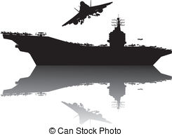 Naval Aircraft Carrier Clip Art