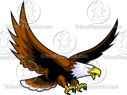 Cartoon Eagles Logos Clipart - Clipart Suggest  Baby