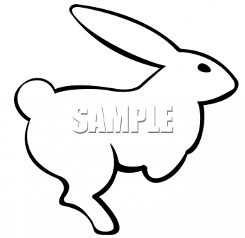Clip Art Animal Images Animal Clipart Net Clipart Of An Rabbit Outline