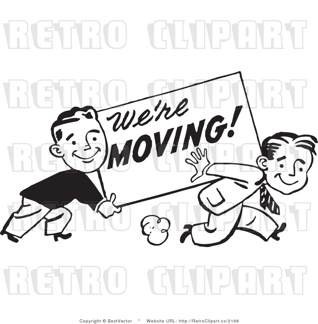 Clip Art Of We Re Moving   Clipart Panda   Free Clipart Images