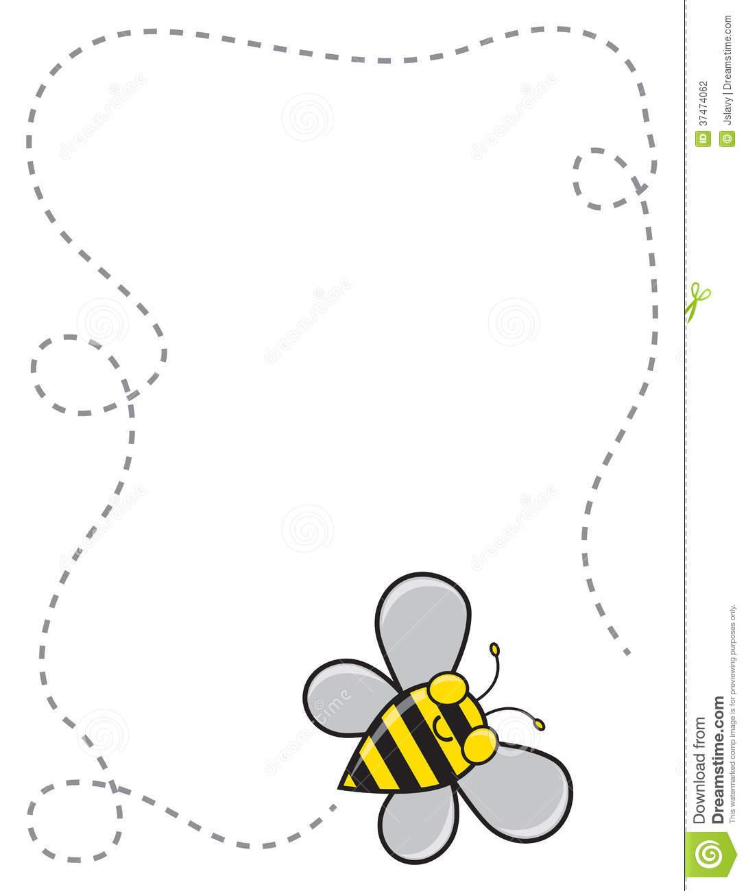 flying honey bee clipart