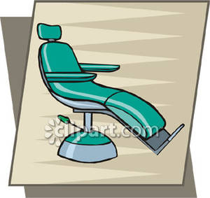 Dental Exam Chair   Royalty Free Clipart Picture
