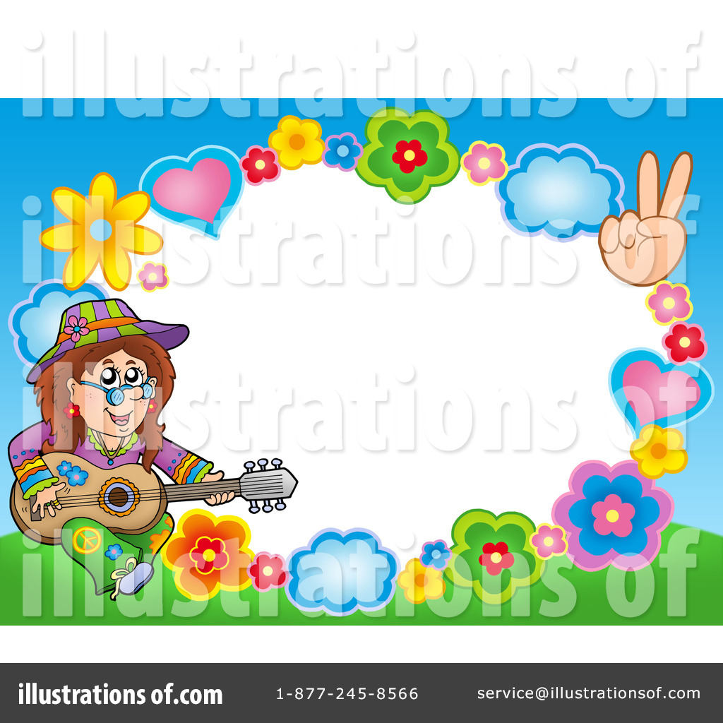 Hippie Clipart  223527   Illustration By Visekart