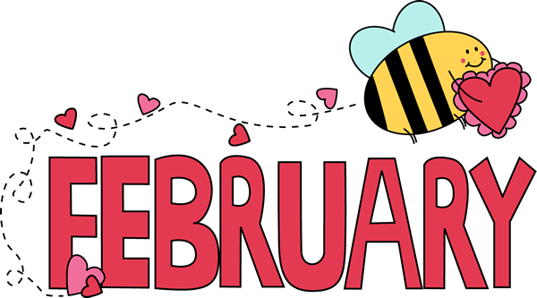 Month Of February Valentine Love Bee Png