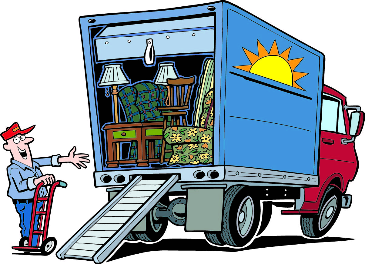 packing and moving clipart clipart kid