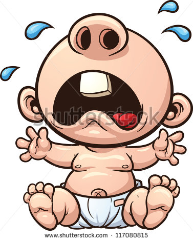 Funny Crying Clipart - Clipart Kid