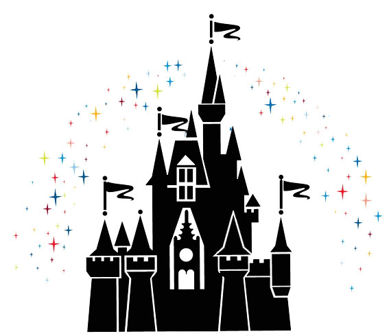 Magic kingdom silhouette clipart clipart suggest Design a castle online