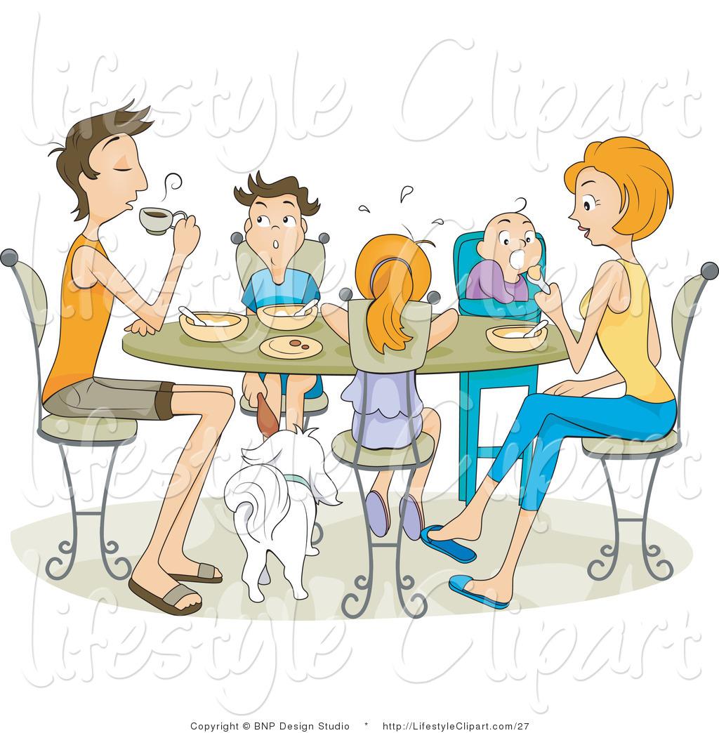 clipart family dinner table - photo #20