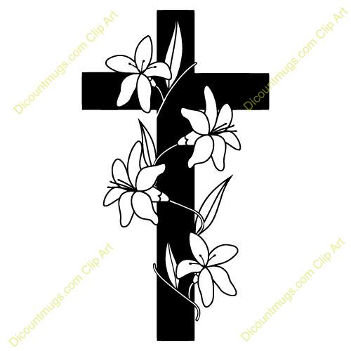 Clipart Flower Cross