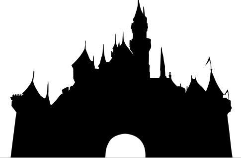 Disney Castle Silhouette Clip Art Disney Castle Clip Art